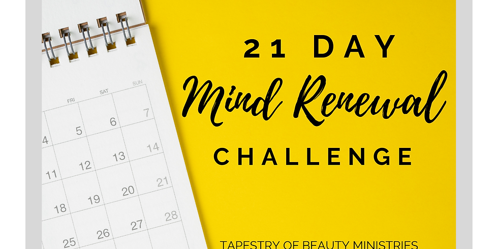 21 Day Mind Renewal Challenge