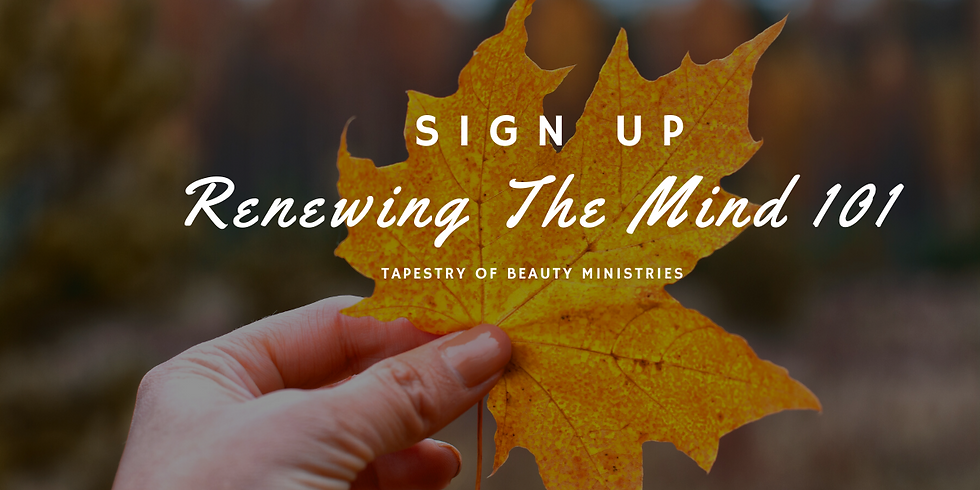 Renewing The Mind 2020 - 63 Day Health Journey