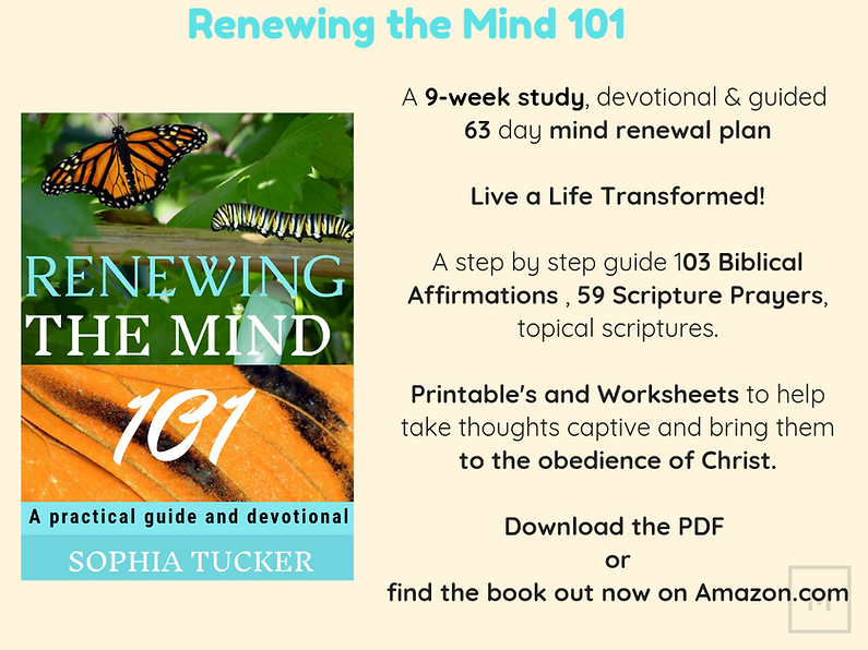 Renewing the mind 101 A 9-week study, de