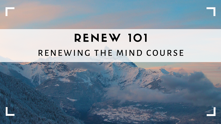 Waiting List - Renewing The Mind Courses 2020