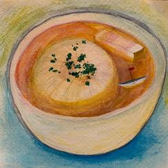 スープに浮かぶ船.webp