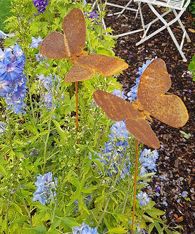 www.werkoase.ch Schmetterlinge aus Rost