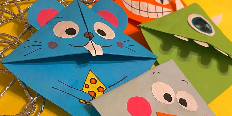 "МК Закладка для книг ""Оригами"""