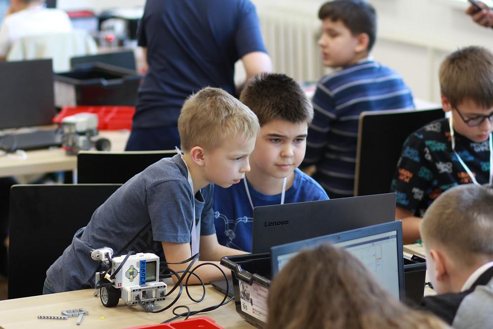 соревнования по робототехнике в цмите