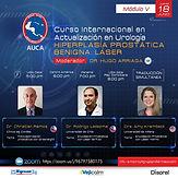 Curso Internacional en Actualización en Urología: HIPERPLASÍA PROSTÁTICA BENIGNA: LASER