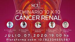 SEMINARIO 10 X 10 CÁNCER RENAL