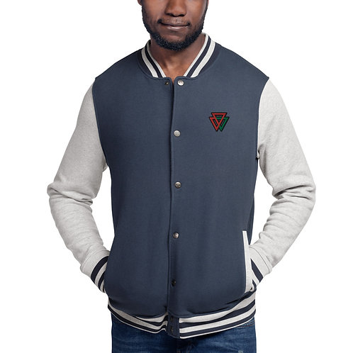 Embroidered Champion Bomber TRIANGLE Jacket