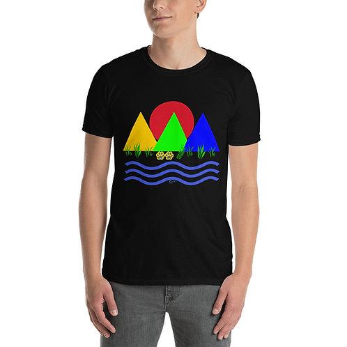 Short-Sleeve Unisex MOUNTAIN T-Shirt for men and women