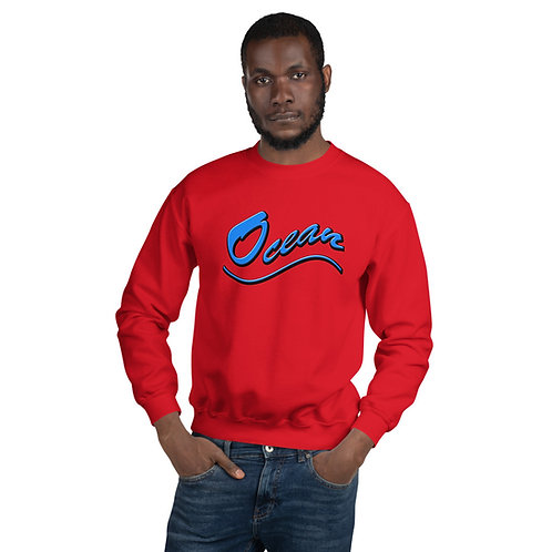 Unisex OCEAN Sweatshirt for men and women