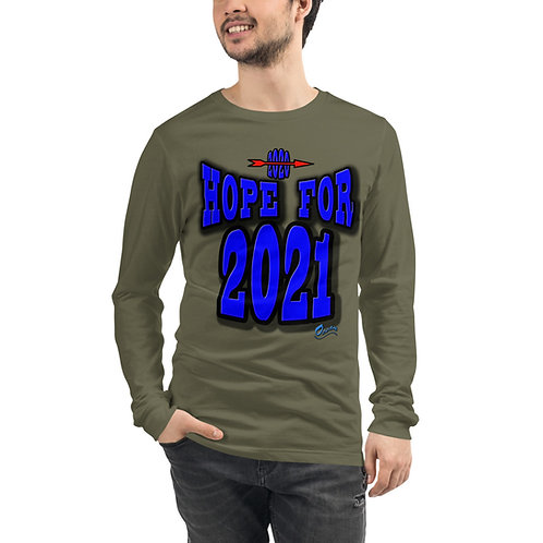 Unisex Long Sleeve HOPE FOR 2021 Tee