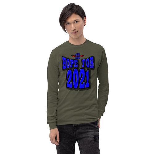 Men's Long Sleeve HOPE FOR 2021 Shirt