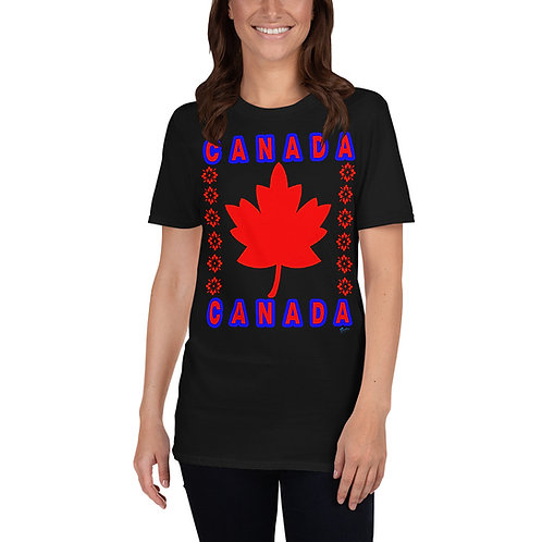 Short-Sleeve Unisex CANADA T-Shirt for men and women