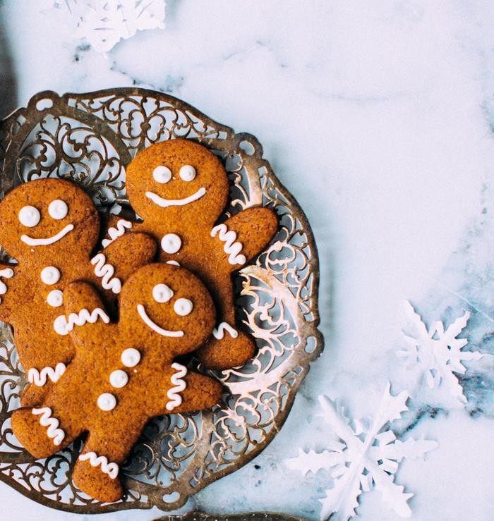 Gingerbread Cookies (Gluten Free, Vegan)