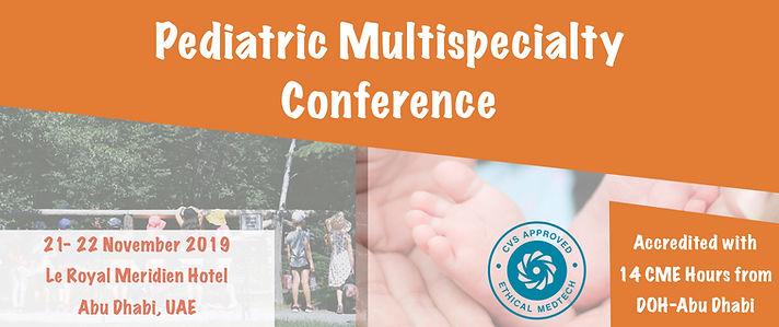 Pediatric Conference Web Banner 25.09.19