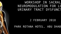 Approved with 4.25 HAAD CME Hours! Workshop in Sacral Neuromodulation for Lower Urinary Tract Dysfun