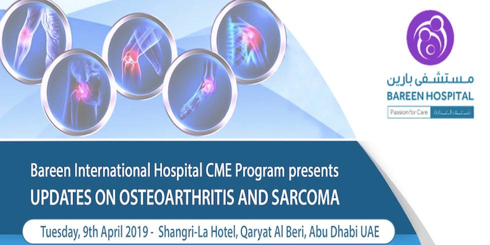 Updates on Osteoarthritis and Sarcoma