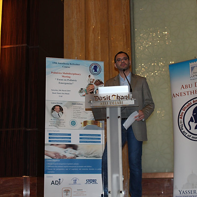 15th Anesthesia Refresher Course : Pediatrics Multidisciplinary Meeting