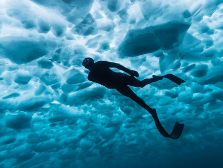 Five amazing tips about Free Diving under Ice