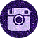 free instagram Purple sparkle social med