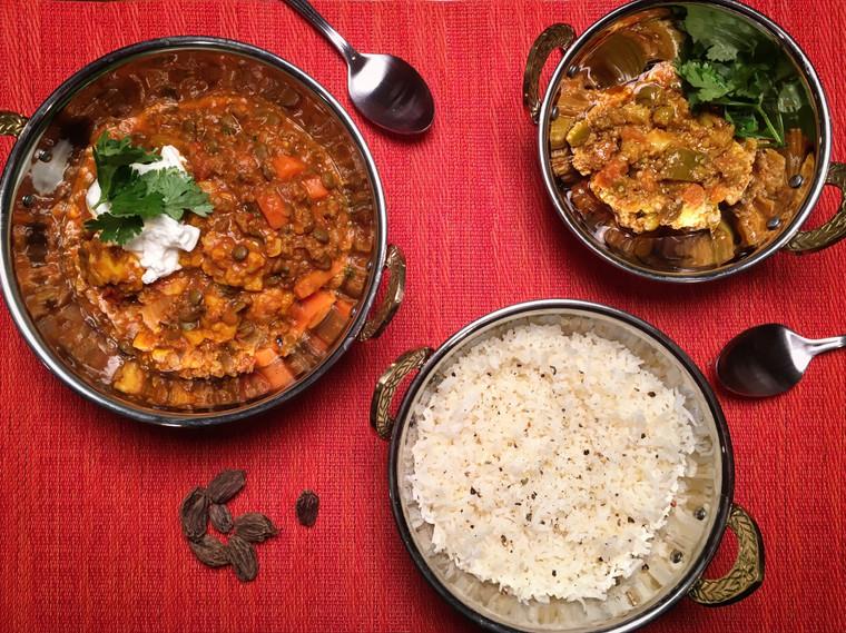 Lamb & Lentil Curry