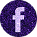 free facebook Purple sparkle social medi