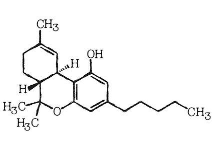cannabis molecule