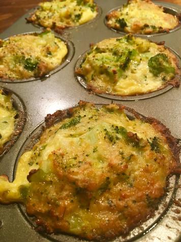 Healthy Broccoli Tots