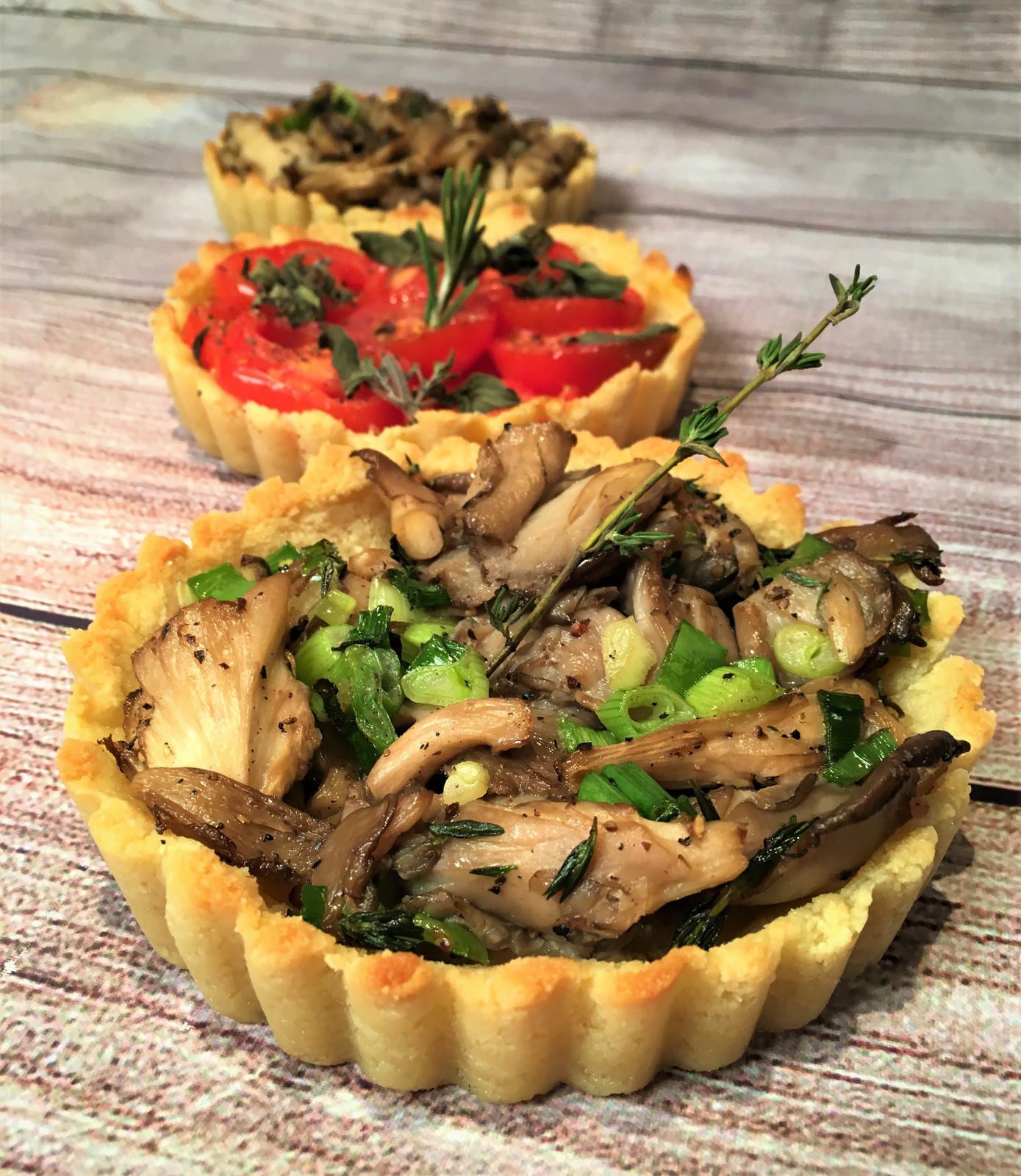 Shitake Mushroom Tart