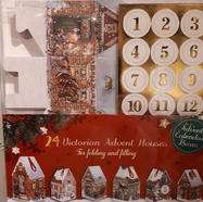 3D Christmas Village Advent Calendar