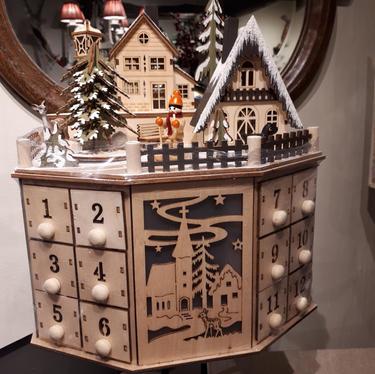 Advent Christmas town