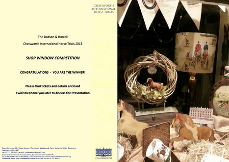 Chatsworth certificate and display.jpg 2