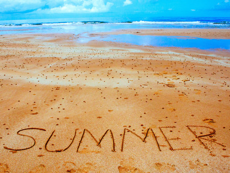 It's summer! Sweet, beautiful summer. Hello, gorgeous!