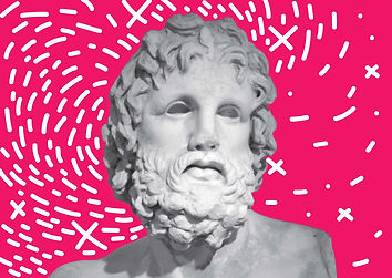 ancient greece, inspirational quote, design, postcard, souvenir, urban, vacation, Greece, statue