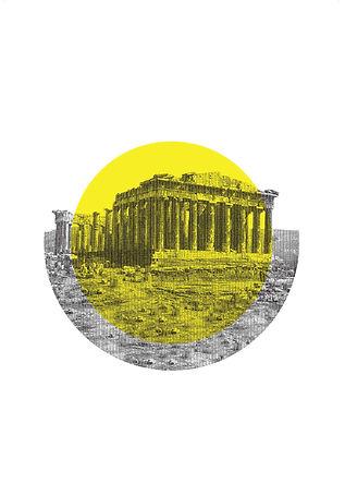 ancient greece, inspirational quote, design, postcard, souvenir, urban, vacation, Greece, acropolis