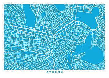 ancient greece, inspirational quote, design, postcard, souvenir, urban, vacation, Greece, Athens, map
