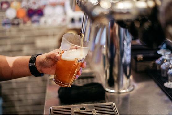 craft beer on tap.JPG