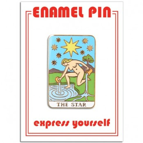 The Star Tarot Card Pin