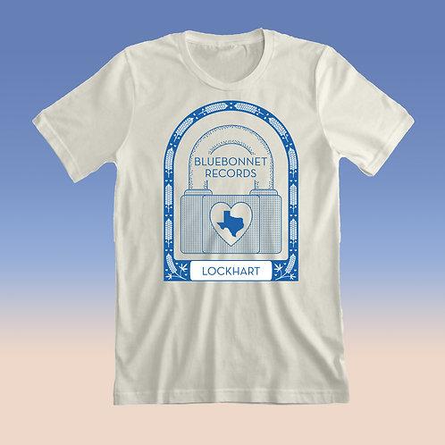 **PRE-ORDER** Bluebonnet Records Lock Heart Shirt