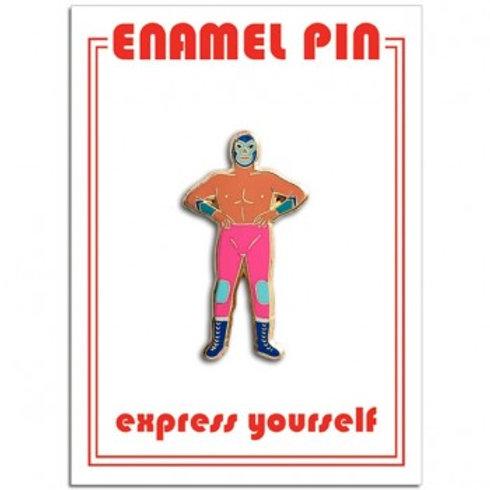 Luchador Pin