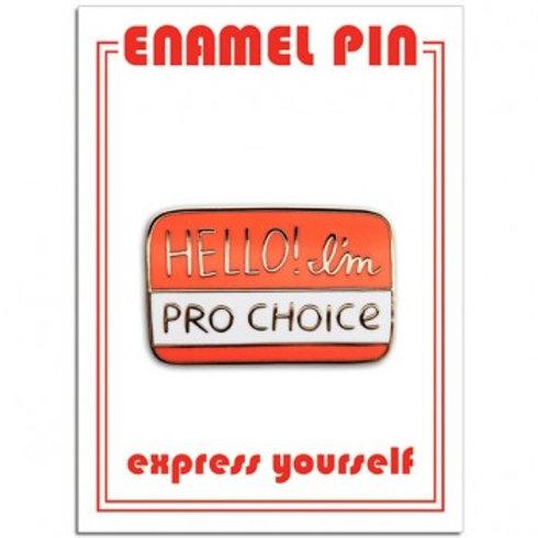 Pro-Choice Pin