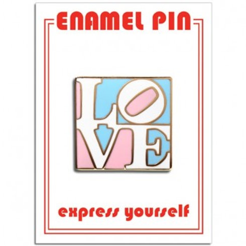 "Trans Pride ""LOVE"" Pin"