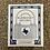 """Thumbnail: """"Lock-Heart"""" Bluebonnet Records vinyl sticker"""