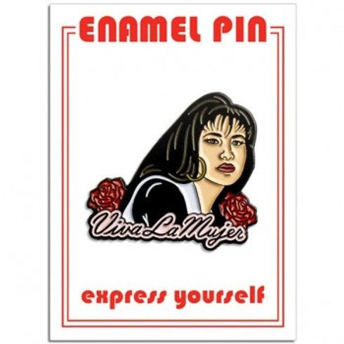"Selena ""Viva La Mujer"" Pin"