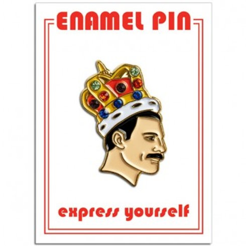 Freddie Mercury Crown Pin