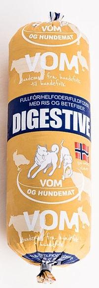 Alimentation crue surgelée pour chiens - VOM Digestive
