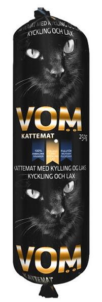 Alimentation crue surgelée pour chats - VOM Poulet/saumon