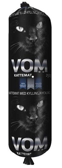 Alimentation crue surgelée pour chats - VOM Poulet