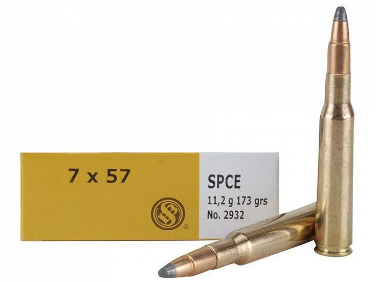 Sellier&Bellot 7x57 golyós lőszer SPCE