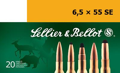 Sellier&Bellot 6,5x55 SE SP