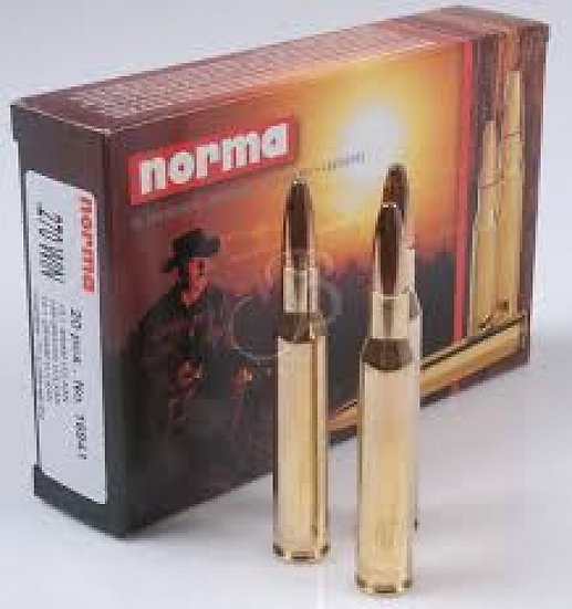 Norma .270 Win V-MAX golyós lőszer